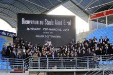 Cellier des Templiers / Séminaire Annuel de la foce de vente au stade Aimé Giral de l'USAP